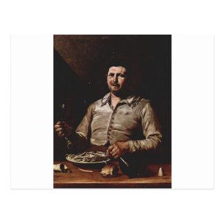 Allegory of Taste by Jusepe de Ribera Postcard