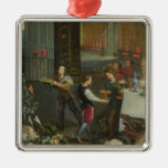 Allegory of Taste Christmas Tree Ornaments