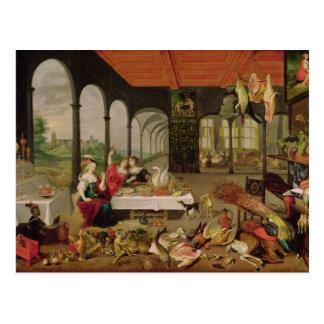 Allegory of Taste Postcard