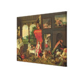 Allegory of Taste Stretched Canvas Print