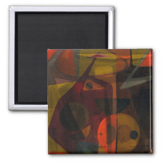 Allegory of Tension 2 Inch Square Magnet