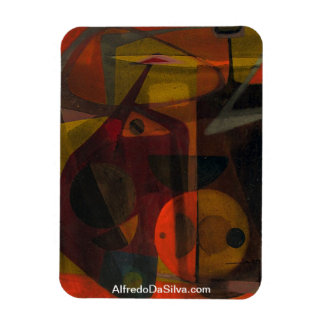 Allegory of Tension Rectangular Photo Magnet
