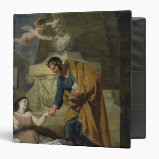 Allegory of the Arts and Patronage Binder