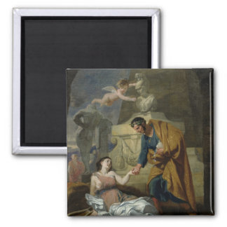 Allegory of the Arts and Patronage Refrigerator Magnet