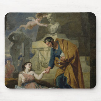 Allegory of the Arts and Patronage Mouse Pad