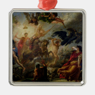 Allegory of the Battle of Austerlitz Metal Ornament