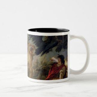Allegory of the Battle of Austerlitz Two-Tone Coffee Mug