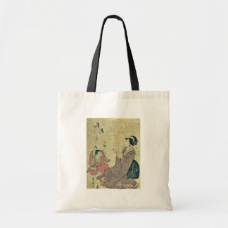 Allegory of the Chinese sage by Utagawa,Toyohiro Tote Bag