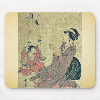 Allegory of the Chinese sage by Utagawa,Toyohiro Mouse Pad