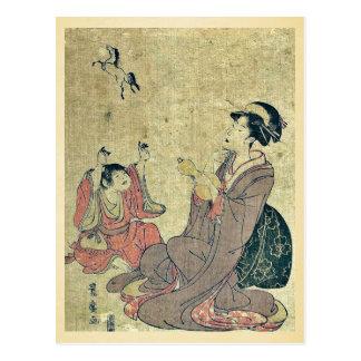 Allegory of the Chinese sage by Utagawa,Toyohiro Postcard