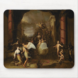 Allegory of the city of Amsterdam Mouse Pad