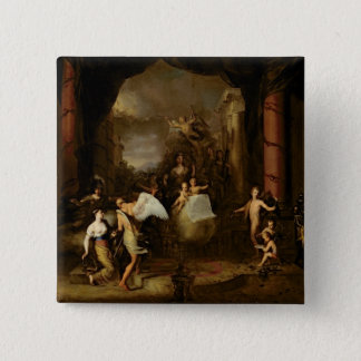 Allegory of the city of Amsterdam Pinback Button