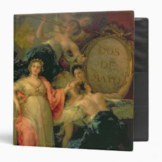 Allegory of the City of Madrid, 1810 3 Ring Binder