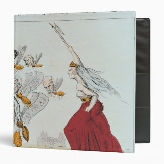 Allegory of the Commune, 1871 3 Ring Binder