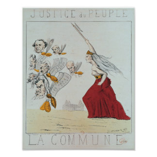 Allegory of the Commune, 1871 Poster