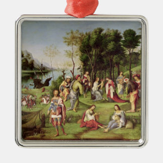 Allegory of the Court of Isabella d'Este  1504-06 Metal Ornament
