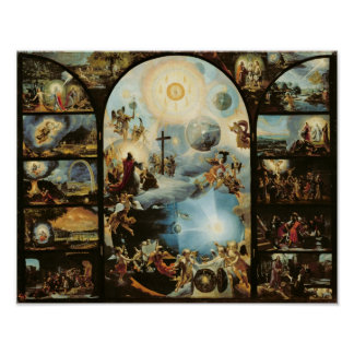Allegory of the Creation of the Cosmos Poster