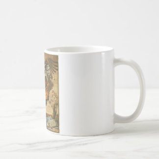 Allegory of the destruction of the cathedral coffee mug