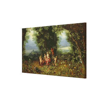 Allegory of the Earth Canvas Print