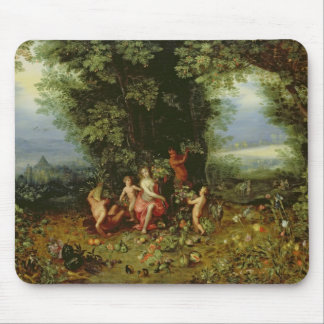 Allegory of the Earth Mouse Pad
