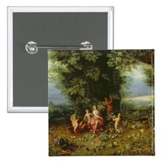 Allegory of the Earth Pinback Button