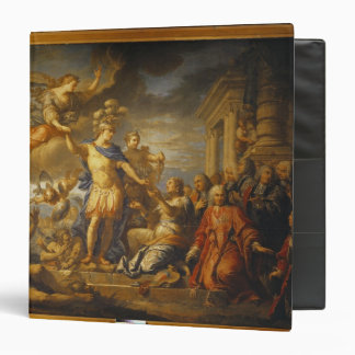 Allegory of the Peace of Aix-la-Chapelle, 1761 Binder