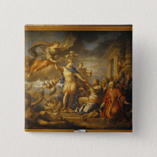 Allegory of the Peace of Aix-la-Chapelle, 1761 Button