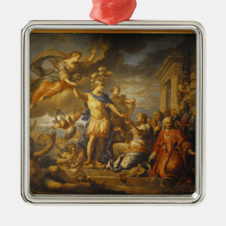 Allegory of the Peace of Aix-la-Chapelle, 1761 Christmas Ornaments