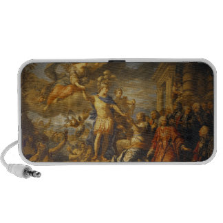 Allegory of the Peace of Aix-la-Chapelle, 1761 Portable Speaker