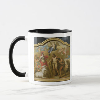 Allegory of the Power of Great Britain by Land, de Mug