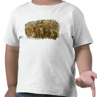 Allegory of the Power of Great Britain by Land, de T-shirt