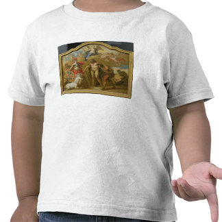 Allegory of the Power of Great Britain by Land, de T-shirts
