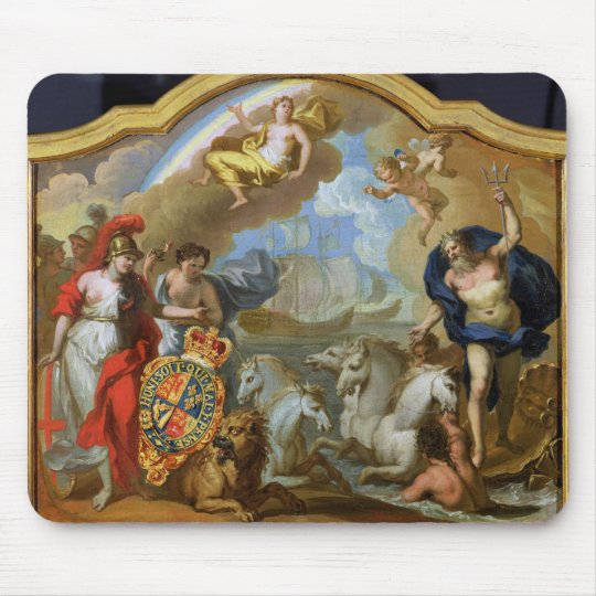 Allegory of the Power of Great Britain by Sea, des Mouse Pad