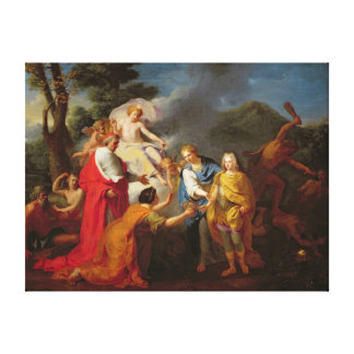Allegory of the Recognition of Philippe de France Canvas Print