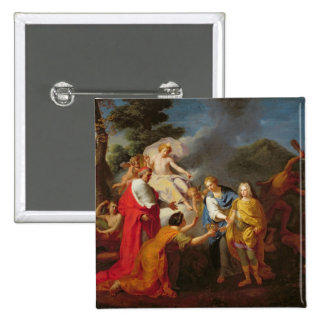 Allegory of the Recognition of Philippe de France Pinback Button