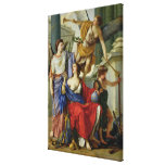 Allegory of the Regency of Anne of Austria  1648 Gallery Wrapped Canvas