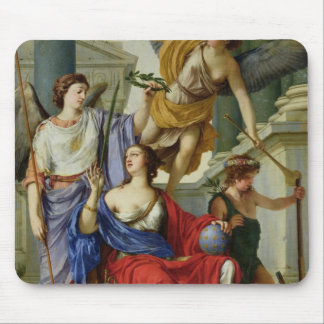 Allegory of the Regency of Anne of Austria  1648 Mouse Pad