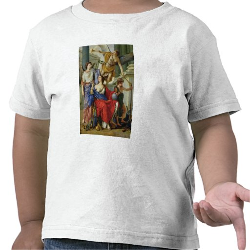 Allegory of the Regency of Anne of Austria  1648 Tshirts