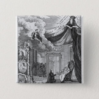 Allegory of the Report Given to Louis XVI Button