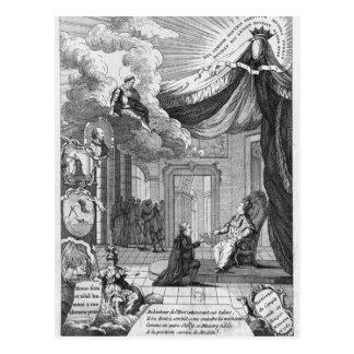 Allegory of the Report Given to Louis XVI Postcard