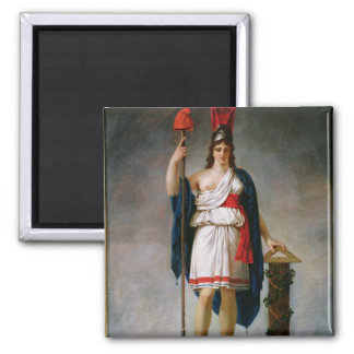 Allegory of the Republic 2 Inch Square Magnet