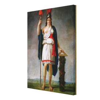 Allegory of the Republic Canvas Print