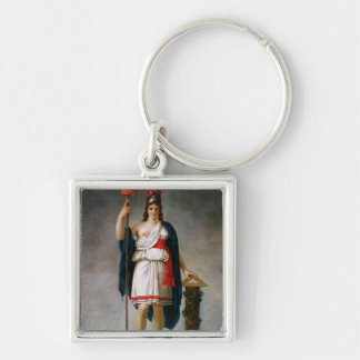 Allegory of the Republic Keychain
