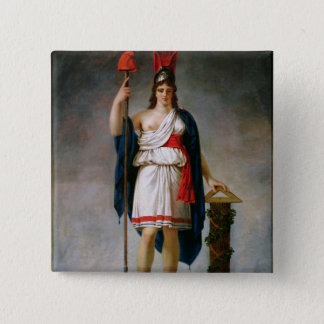 Allegory of the Republic Pinback Button