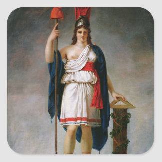 Allegory of the Republic Stickers