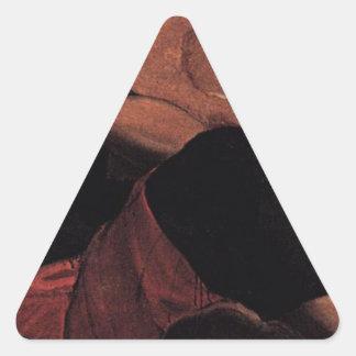 Allegory of the Scuola di San Giovanni Evangelista Triangle Sticker