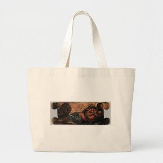 Allegory of the Scuola di San Marco by Tintoretto Jumbo Tote Bag