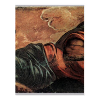 Allegory of the Scuola di San Marco by Tintoretto Postcard
