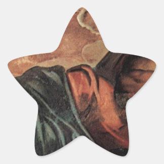 Allegory of the Scuola di San Marco by Tintoretto Star Sticker