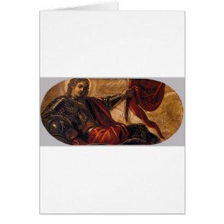 Allegory of the Scuola di San Teodoro Tintoretto Card